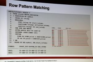 Tijdens KScope13 kwam Oracle 12c uit. Dus eindelijk officiele new feautures.
