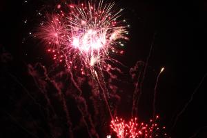 Special Event (Mardi Gras) Night op woensdag afgesloten met vuurwerk