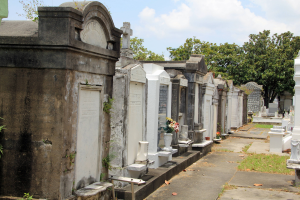 KScope13 is afgelopen, dus kom je vanzelf in een grafstemming: Lafayette Cemetery 1