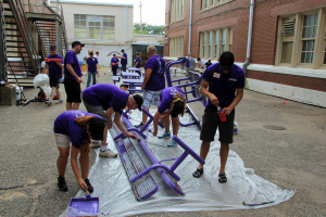 Community Service Day, Warren Easton High School